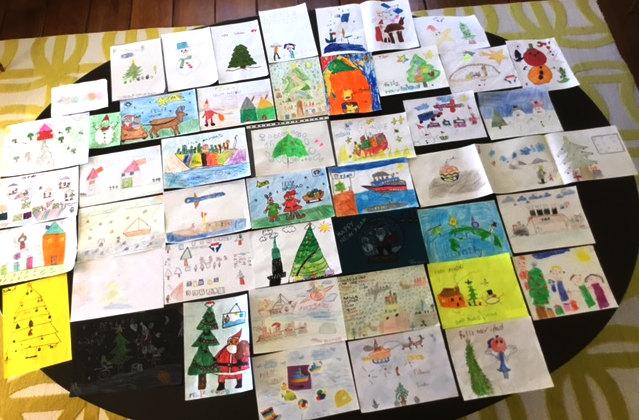Dibujos categoría 4 - 8 años